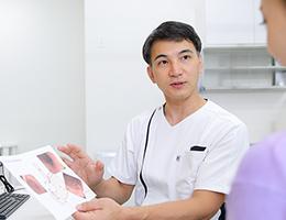 消化器がん手術後のフォローアップも対応